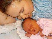 Daniela Niklesová se narodila s váhou 3110 g dne 22. 12. v 2.23 hodin rodičům Tereze a Davidovi z Černovíra. Těší se na ni i sestřička Adélka.