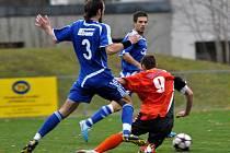 Svěřencům Jaroslava Veselého se v odvetě se Zábřehem na Moravě podařilo zvítězit 3:1.