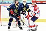 Krajská hokejová liga - čtvrtfinále play off: HC Hlinsko - HC Spartak Choceň.