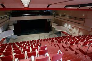 Pohled do sálu nového kulturního domu v Lanškrouně