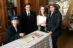Školáci zfilmovali scénky ze života prezidenta Masaryka.