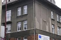 Fotografie z rekonstrukce školícího střediska v České Třebové.