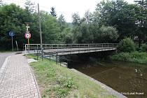 Most už je opět průjezdný
