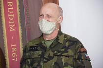 Novým velitelem pěší roty aktivních záloh se stal nadporučík Vratislav Šembera.