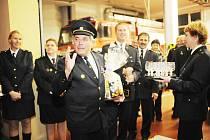 František Kubík byl oceněn titulem Zasloužilý hasič.