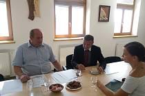 Náměstka ministra školství, mládeže a tělovýchovy Jaroslava Fidrmuce zaujalo Konsorcium zaměstnavatelů Orlicka.