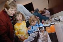 Kuchyně našich babiček v českotřebovském muzeu.