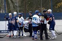 SLOVNÍ PROVOKACE byly častým jevem ve třetí třetině utkání Letohradu s Ústím nad Labem.