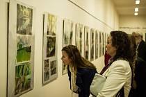 Vernisáž výstavy děl, které vznikly v plenéru.