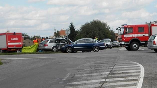 Tragická nehoda u Zámrsku.