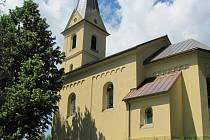 Kostel v Anenské Studánce.
