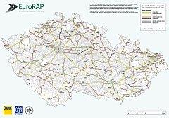 Riziková mapa silnic EuroRAP.