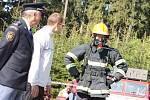 Andrlův chlum patřil druhému ročníku závodu nejtvrdších hasičů.
