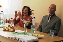 Manželka prezidenta republiky Livia Klausová navštívila Dětský domov v Dolní Čermné