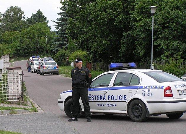 V České Třebové byl nalezen mrtvý muž.