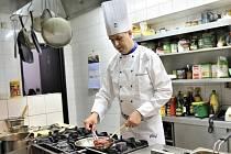 Šéfkuchař hotelu Bravo Ladislav Svoboda.