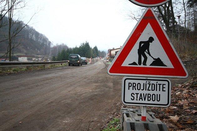 """Stavba """"Průjezd železničním uzlem Ústí nad Orlicí""""."""