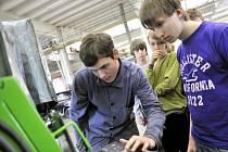 TECHNOhrátky v Integrované střední školy technické ve Vysokém Mýtě.