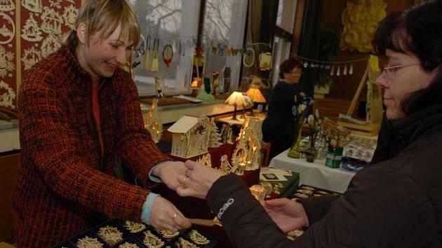 Vánoční trhy v Ústí.