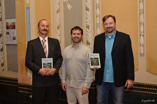 Filip Svoboda, Petr Pulc a Martin Vídenský.