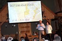 V Novém dvoře se vyprávělo o Botswaně.