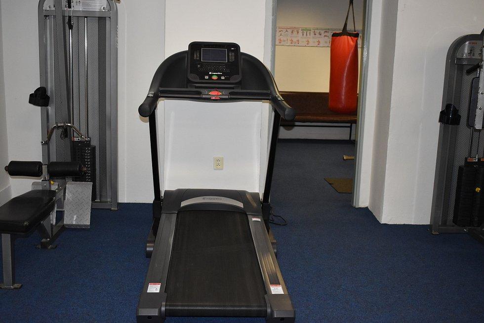 Na studenty čeká také nové fitness centrum