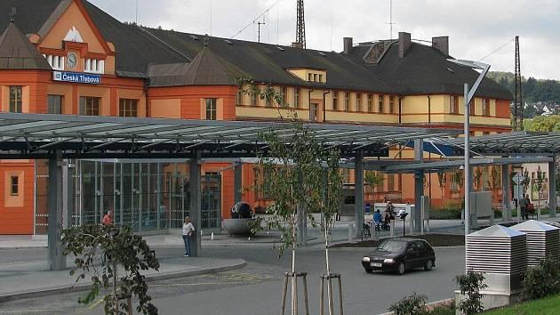 Dopravní terminál v České Třebové.