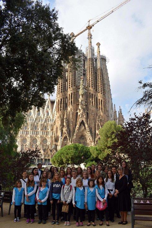 Viola zpívala v Barceloně