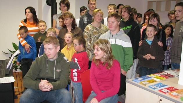Z otevření centra sociálních služeb v Lanškrouně.