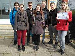 Žamberští studenti na matematické olympiádě v Ústí nad Orlicí.