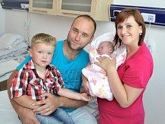Ellinka Stříteská je po Adámkovi dalším dítětem Evy a a Josefa z Pohodlí u Litomyšle. Holčička se narodila 12. 6. v 10.37 hodin, kdy vážila 3,75 kg.