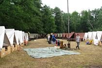 Řádění bouřky v Nekoři: polom a evakuovaný skautský tábor.