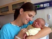 Luděk Kutlvašr je dalším dítětem Hany a Petra z Chocně. Narodil se 5. 9. v 5.17 hodin, kdy vážil 3,900 kg. Doma se na něj těší i sestřička Maruška.