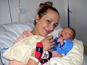 Nikolas Brejša, tak pojmenovali syna Petra a Milan z České Třebové. Narodil se 26. 7.v 10.06 hodin.