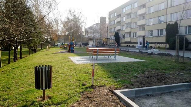 Příprava revitalizace parku Za Pivovarem.