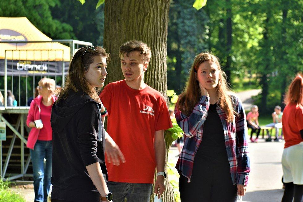 Obchodní akademie a Střední odborná škola Choceň jsou hlavními iniciátory běhu