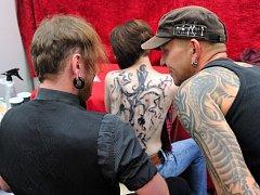 Tetovací show Tattoo Action v České Třebové.