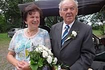 Zlatá svatba na Zámečku.