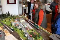 Výstava železničních modelů v Chocni.