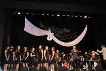 Vánoční koncert Big Bandu v Letohradu.