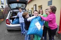 Damníkovští školáci pomohli syrským uprchlíků.
