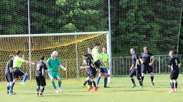 Okresní přebor II. třídy ve fotbale: FC Jiskra B - Tatenice.