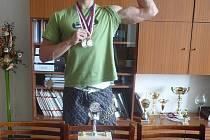 Nadějný kulturista Tomáš Ďurán.