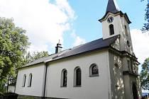 Kostel na Mariánské hoře u Lanškrouna.
