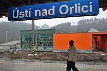 Modernizované nádraží v Ústí nad Orlicí.