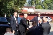 Prezident navštívil Českou Třebovou.