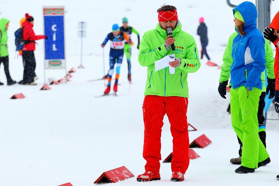 Láska jménem biatlon… Letohradský trenér žactva Jiří Faltus.