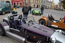 Žamberští obdivovali netradiční auta.