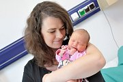 Nela Sedláková bude doma s rodiči Petrou a Petrem v Ústí nad Orlicí. Když se 29. 8. v 7.47 hodin narodila, vážila 3,270 kg.