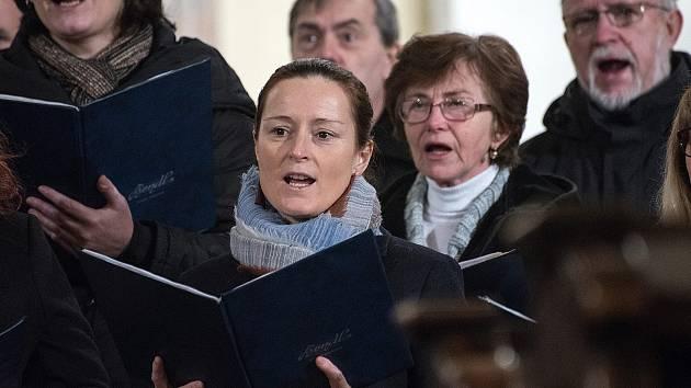Tříkrálový koncert v kostele sv. Jakuba v České Třebové.